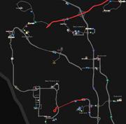 Bay Area Interstate 80 map v1.0