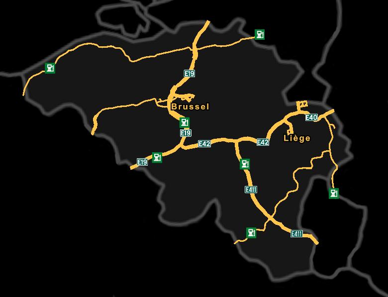 Image Belgium Mappng Truck Simulator Wiki FANDOM Powered By - Belgium map png