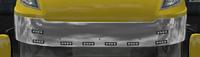 Daf xf 105 sun visor albedo chrome