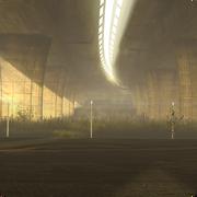 Under bridge background