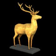 Golden deer statue reward