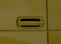 Daf xf 105 door handle paint