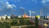 Kraków skyline