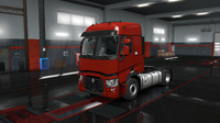 Renault T red