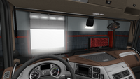 Daf xf euro 6 interior exclusive line facelift