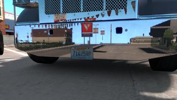 Truck plate