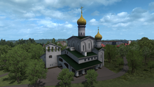 Pskov church of faith, hope, love & sophia