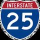 Interstate 25 icon