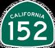 CA 152 sign