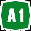 Italy A1 shield