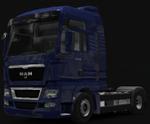 MAN Truck at dealer 6