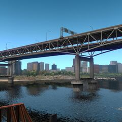 Marquam Bridge (I-5 Bridge)