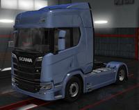Scania R scandinavian blue