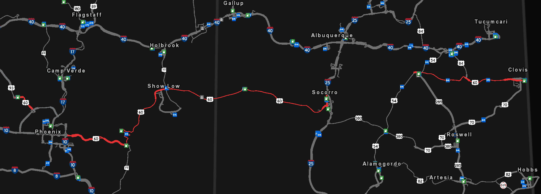 Image - US 60 map.png | Truck Simulator Wiki | FANDOM powered by Wikia
