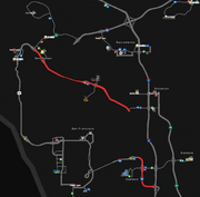 Interstate 580 CA map v1.0
