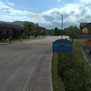 Entrance sign of Provo