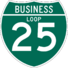 Interstate 25 Business Loop icon