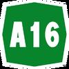 Italy A16 shield