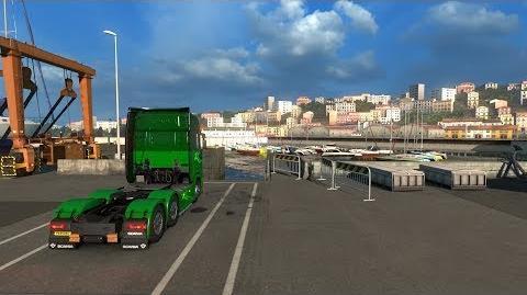 Euro Truck Simulator 2 - City Tour - Genova (Italy)