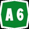 Italy A6 shield