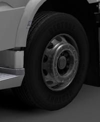 Daf xf euro 6 front wheels standard