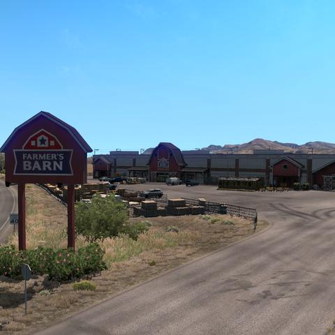 Farmer's Barn's warehouse