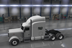 Peterbilt 389 Ultra Cab Roof Deflector