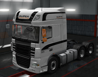 Daf xf 105 limited edition