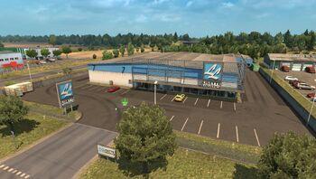Lisette Logistics in the Cestas Jarry's industrial site near Bordeaux.