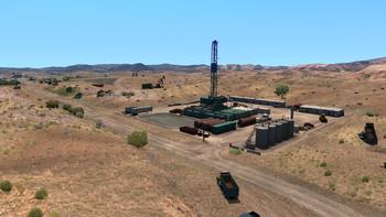 Oil Drilling site