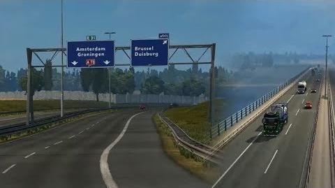 Euro Truck Simulator 2 - Netherlands A73 + A50