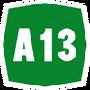 Italy A13 shield