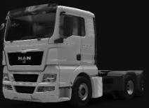 MAN Truck at dealer 4