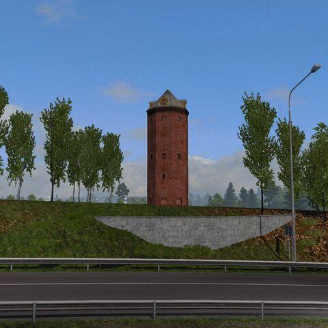 Södertälje Harbor Water Tower