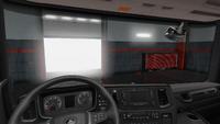 Scania R interior standard dark