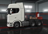 Scania S chassis 6x2