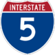 Interstate 5 icon