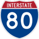 Interstate 80 icon