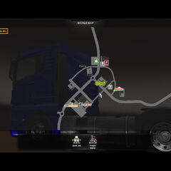 Old ETS2 Map