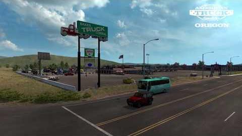 American Truck Simulator Oregon trailer