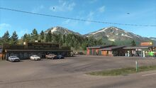 Mountain Village Mercantile and gas station