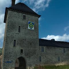 Peyrat-le-Château castle