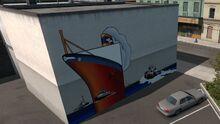 Coos Bay-Tugboat Mural