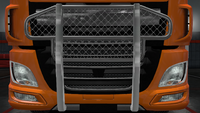 Daf xf euro 6 bull bar accent