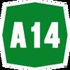 Italy A14 shield