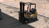ATS Caterpillar Towmotor Forklift