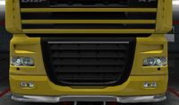 Daf xf 105 lower grille guard pride