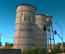 KingmanHistoricRoute66WaterTowers