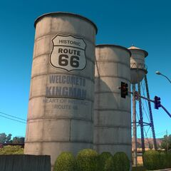 Historic Route 66 Water Towers