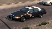 Police New Mexico Crown Victoria